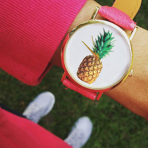 The 'Piña' Timepiece
