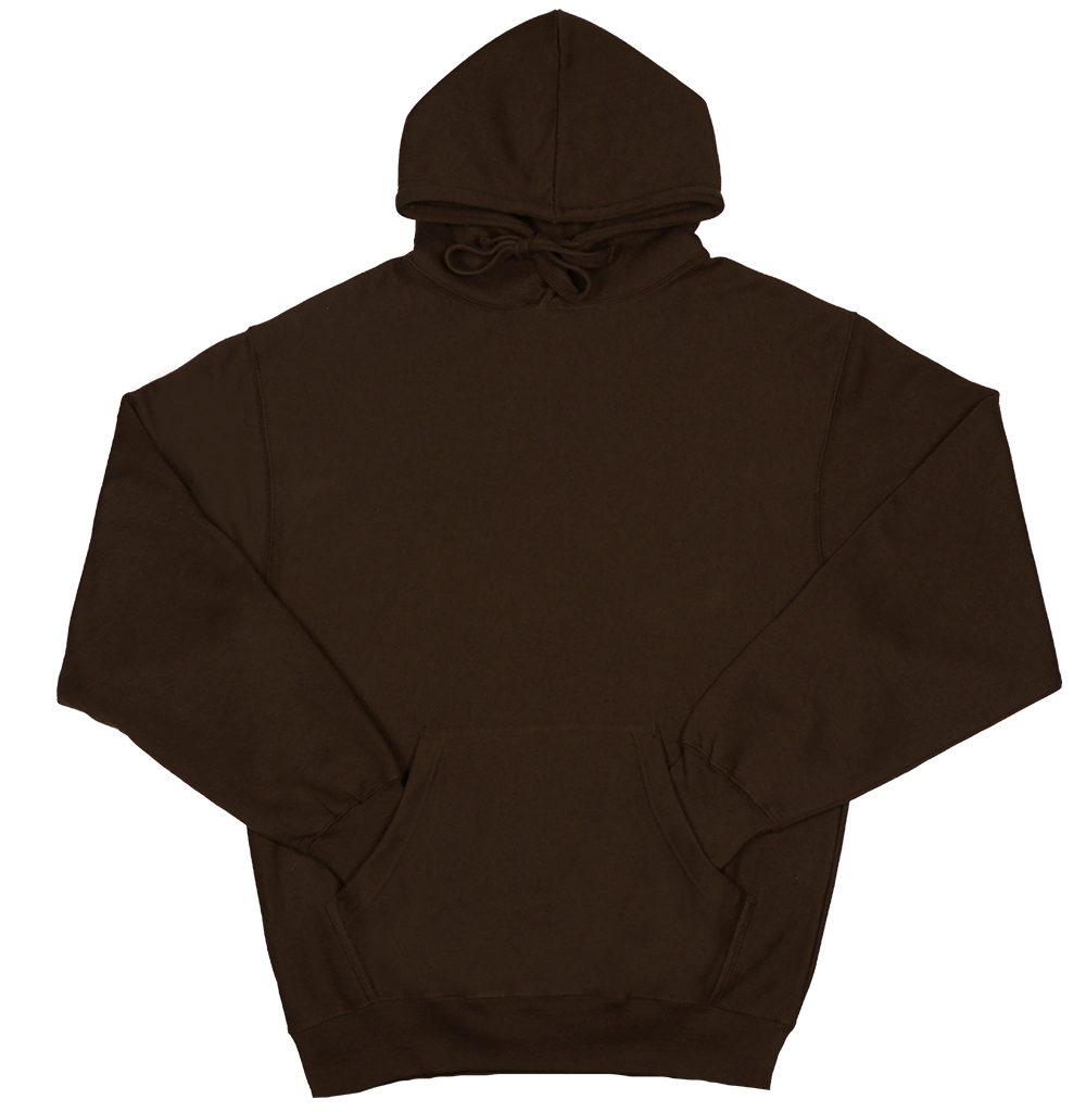 Unisex Solid Pullover Hoodie (AVMT707)