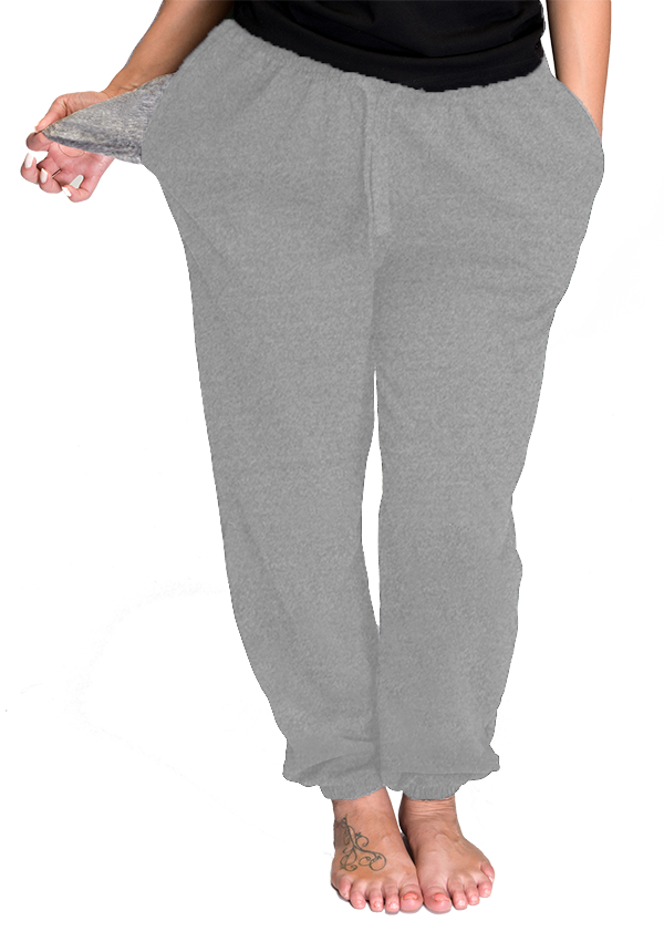 Unisex Solid Sweatpants (AVMT715)