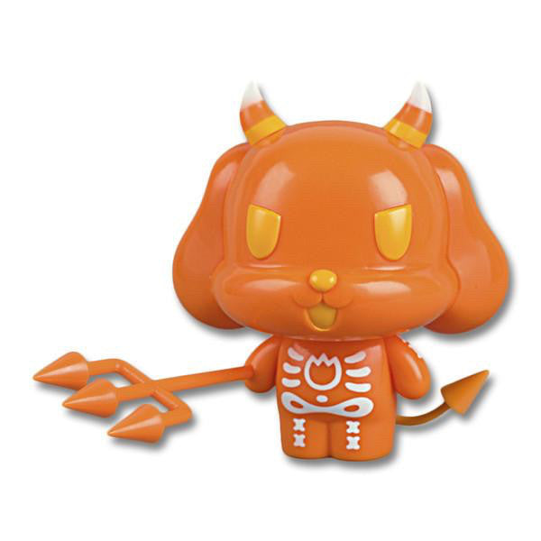 Ltd Ed Candy Corn Devil Dog Vinyl Figure