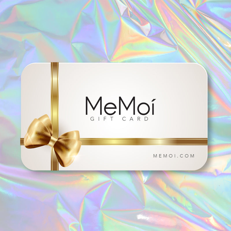 Give a MeMoi Gift Card for Holidays, Birthdays, and all Occasions