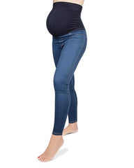 Denim Bamboo Maternity Leggings