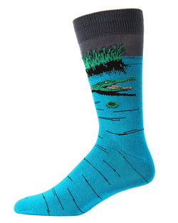 Later Gator Bamboo Blend Crew Socks
