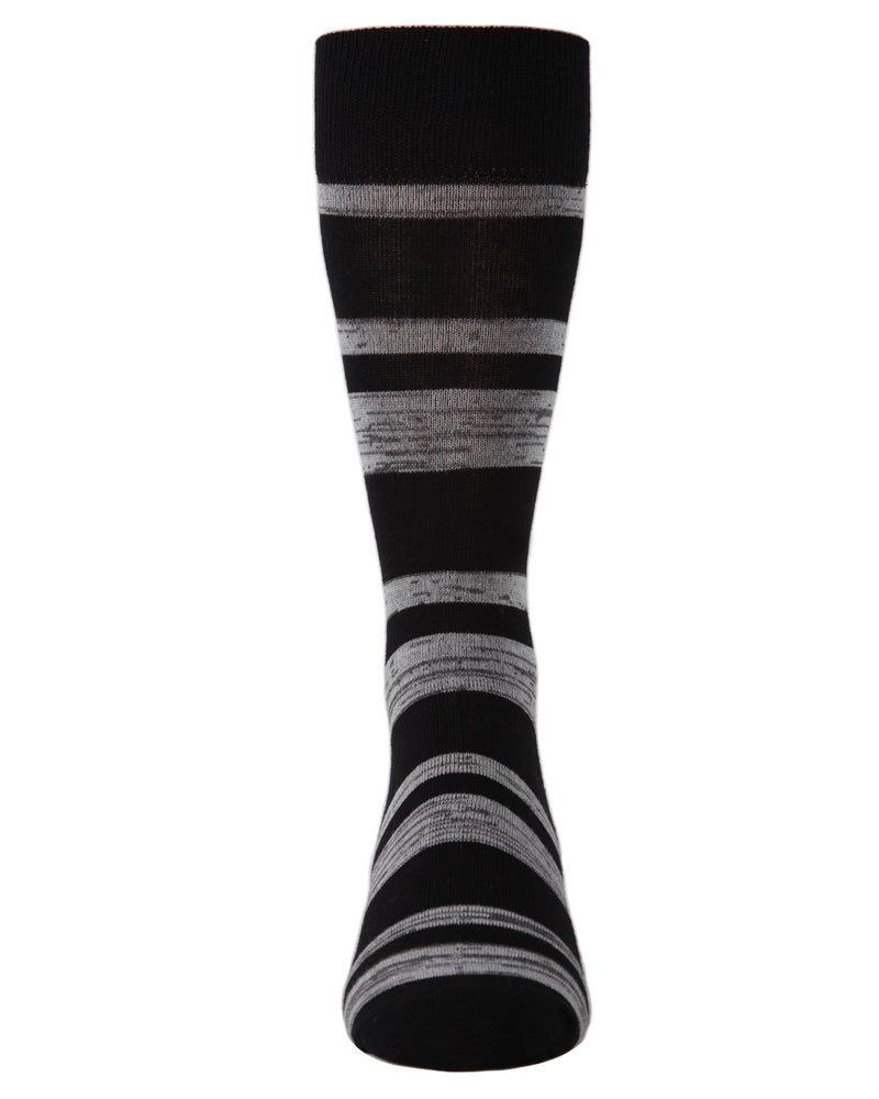Men's Bamboo Blend Billiard Ball Crew Socks 2-Pac | mens clothing by MeMoi | fun mens novilty socks | 182118-00001-10 13 -5