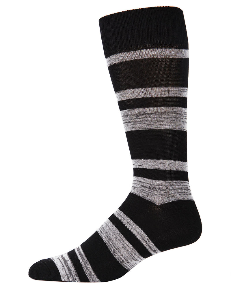 Men's Bamboo Blend Billiard Ball Crew Socks 2-Pac | mens clothing by MeMoi | fun mens novilty socks | 182118-00001-10 13 -4