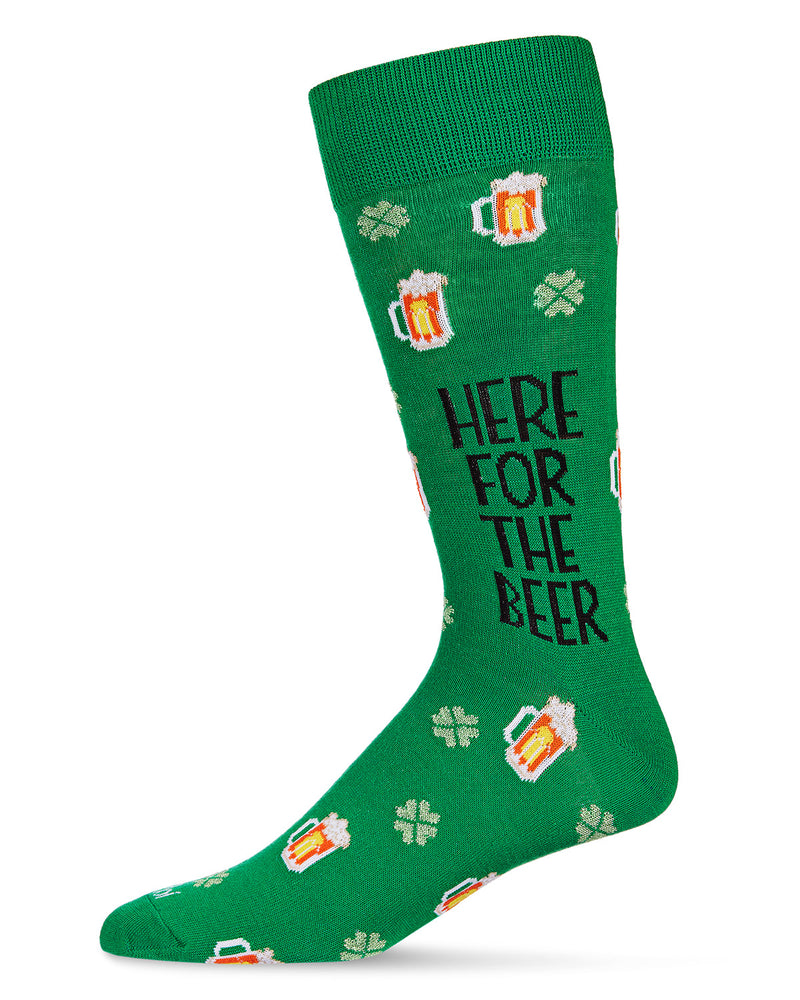 Here for The Beer Crew Socks