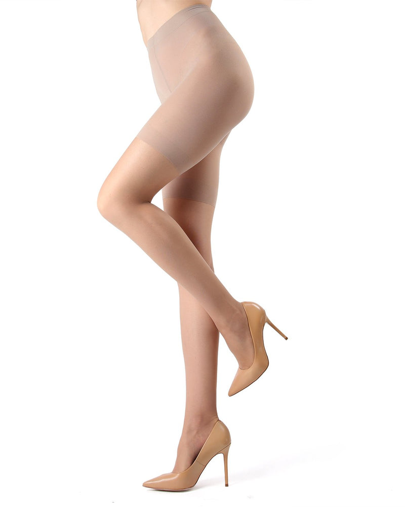 Crystal Sheer Shaper 12 Denier Pantyhose AS-611