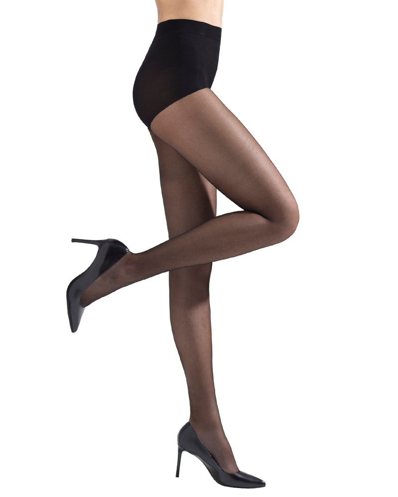 Simply Bare Beach Sand | womens sheer tights by MeMoi | womens clothing MM-306-blk