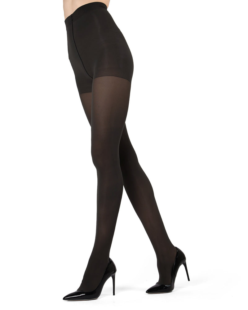 Support Mate 60 Denier Pantyhose| womens opaque tights by MeMoi | womens clothing | Ms-635-blk