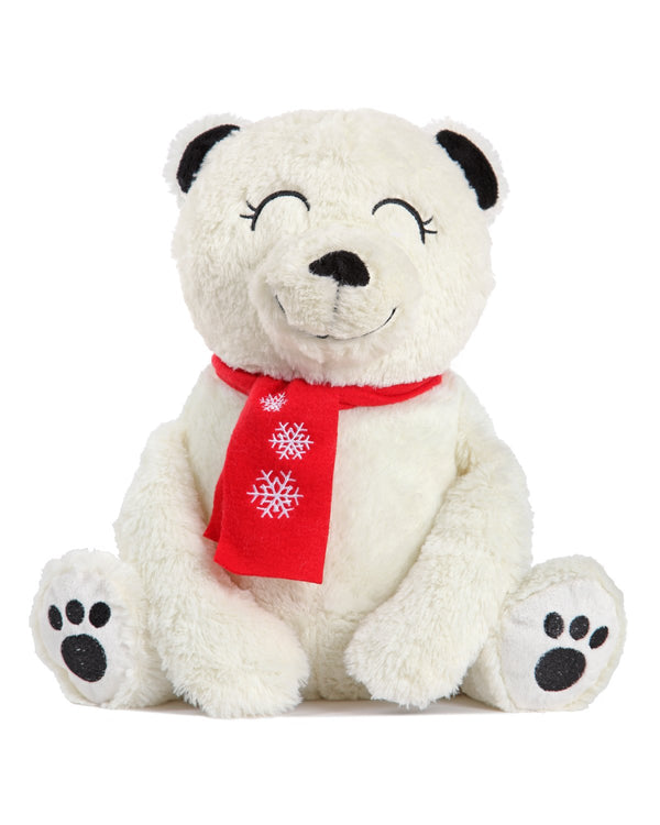 MeMoi Cozy Buddies Bear | Stuffed Animals & Plush Toys w/ Socks | Bear CCB00164