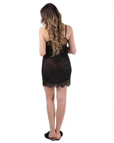 Lined Lace Chemise