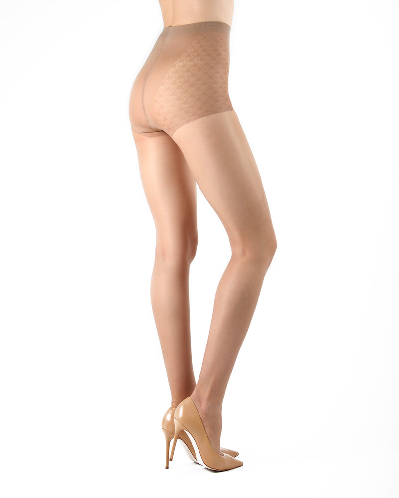 Class Control Top Pantyhose | Sheer Tights by Levante | CLASS CT | Natural 1