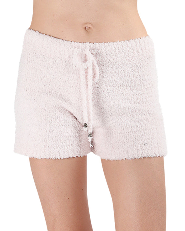 LoungeLife Chenille Drawstring Shorts | Women's loungewear by MeMoi | Chenille Shorts CSH05717