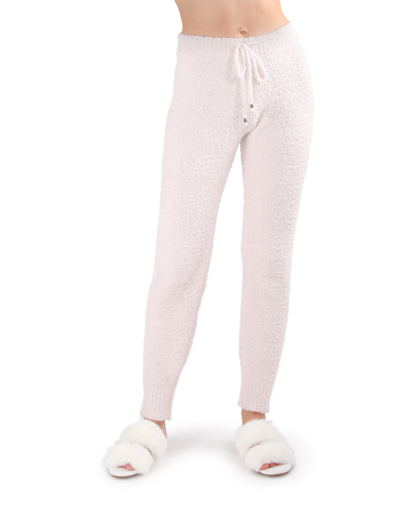 LoungeLife Chenille Drawstring Jogger Pants