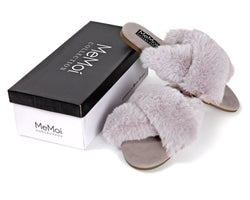 MeMoi Collection The Adela Mule Hard Sole Slipper