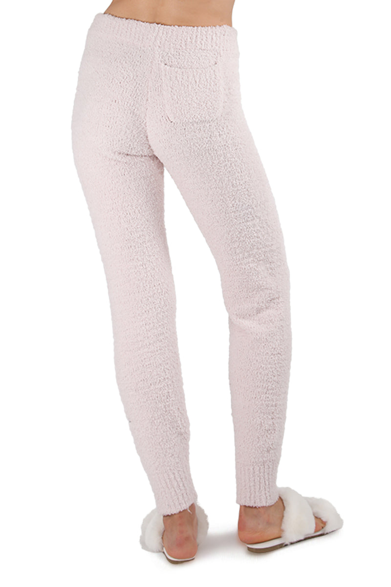 MeMoi Collection Chenille Drawstring Jogger Pants