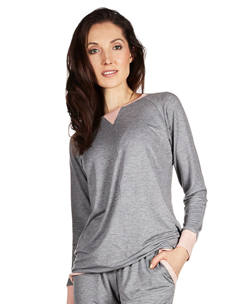 All Day Lounge Raglan Pullover