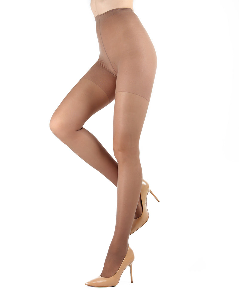 Dynamic Sheer Massaging Pantyhose | Women's Tights by Levante -9