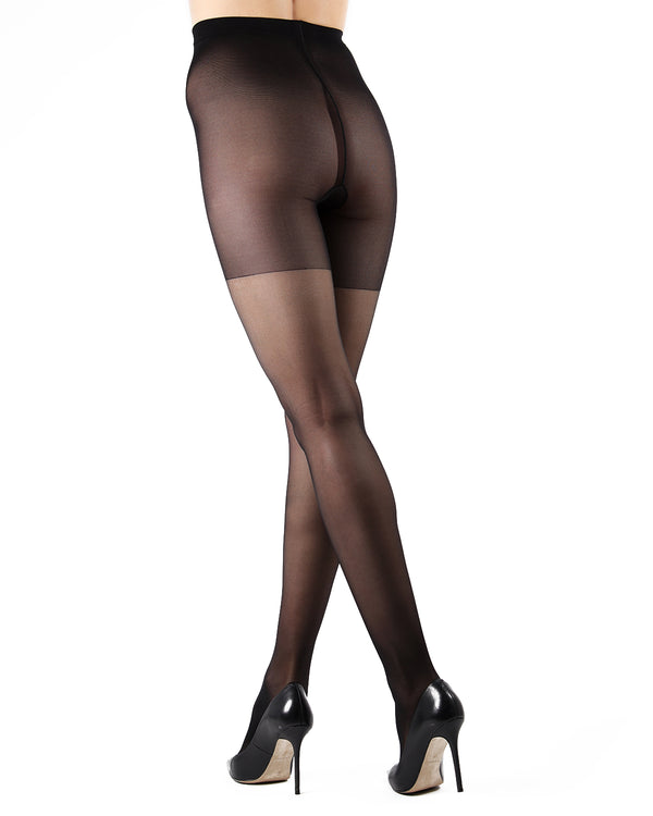 Dynamic Sheer Massaging Pantyhose | Women's Tights by Levante -2