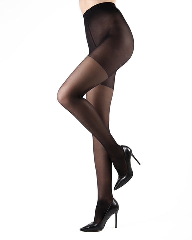 Dynamic Sheer Massaging Pantyhose | Women's Tights by Levante -1