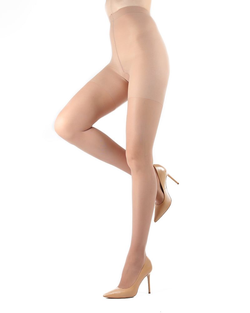 Dynamic Sheer Massaging Pantyhose | Women's Tights by Levante -11