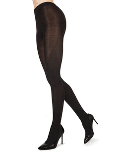 Bamboo Blend Flat Knit Tights