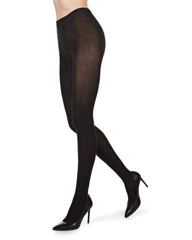 Organic Cotton Flat Knit Tights