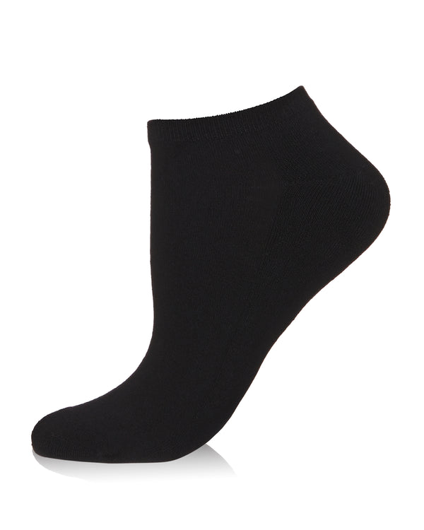 Bamboo Blend Terry Sole Lowcut Socks