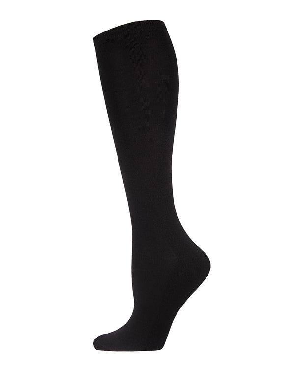 Bamboo Blend Terry Sole Knee-High Socks