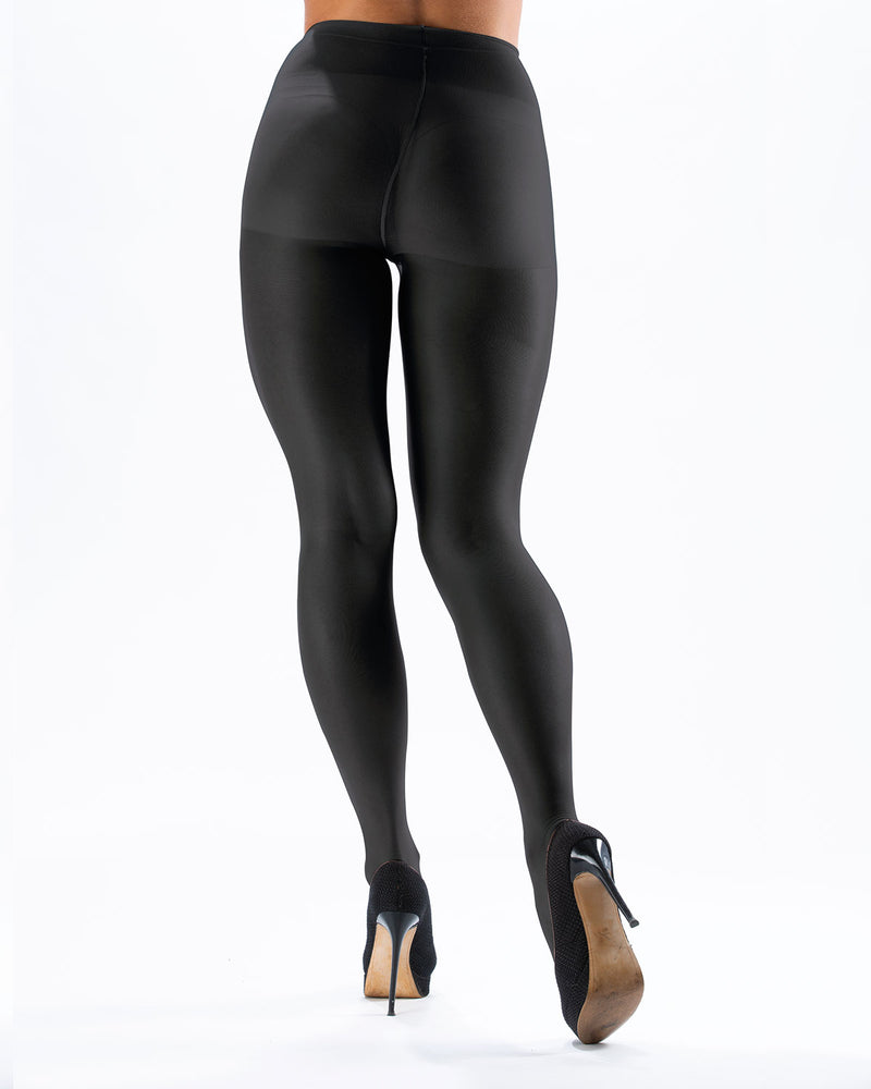 Extra 40 Super Maxi Pantyhose | Opaque Tights by Levante | EXTRA 40  | Nero 1