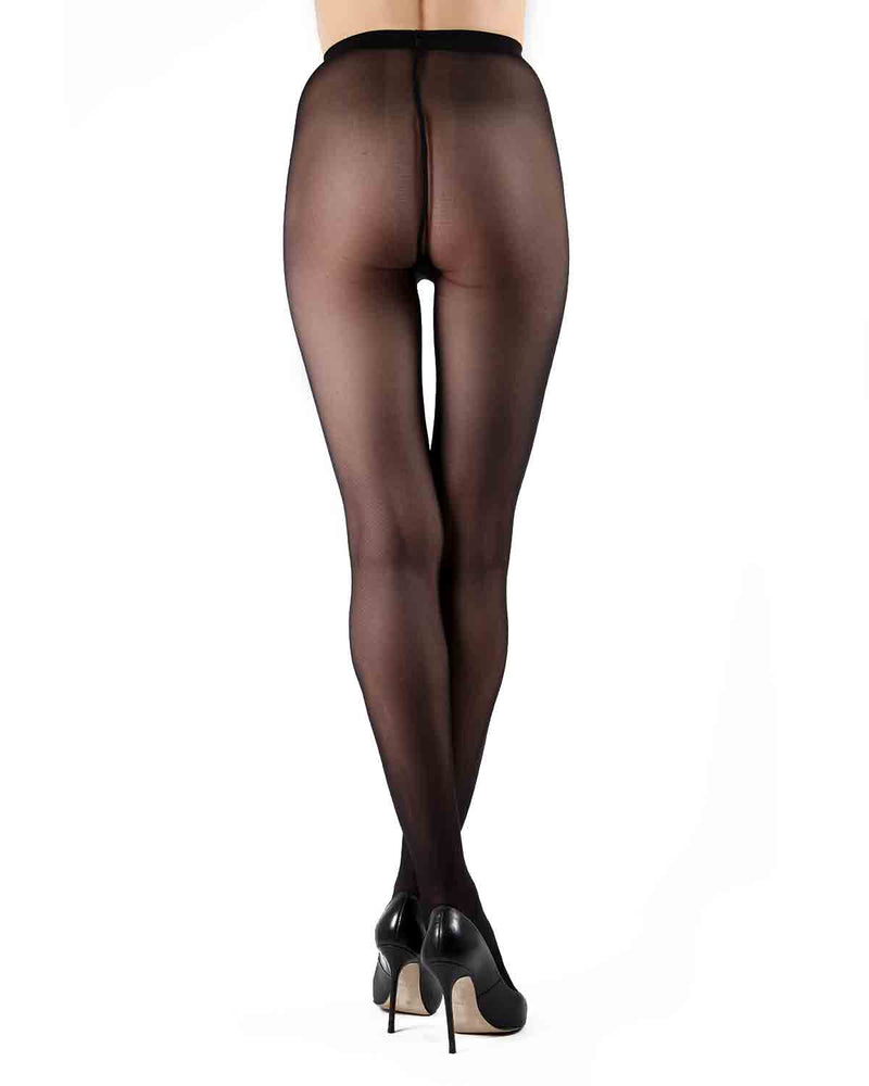 Gaudi 30 Matte Tights | Tights by Levante® | Gaudi 30 | Nero