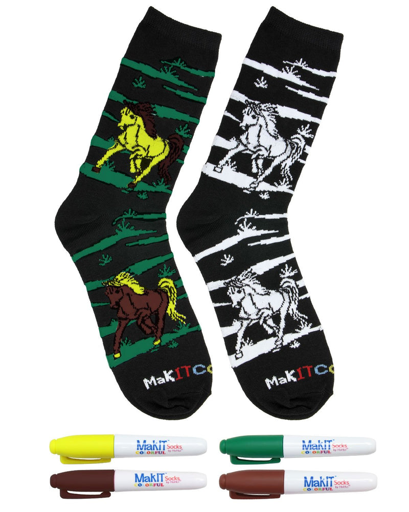 MakIT Colorful Socks by MeMoi - Color Your Own