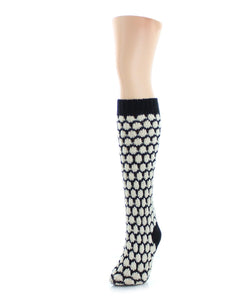 Legmogue Hexitrast Chunky Knit Over The Knee Warm Socks