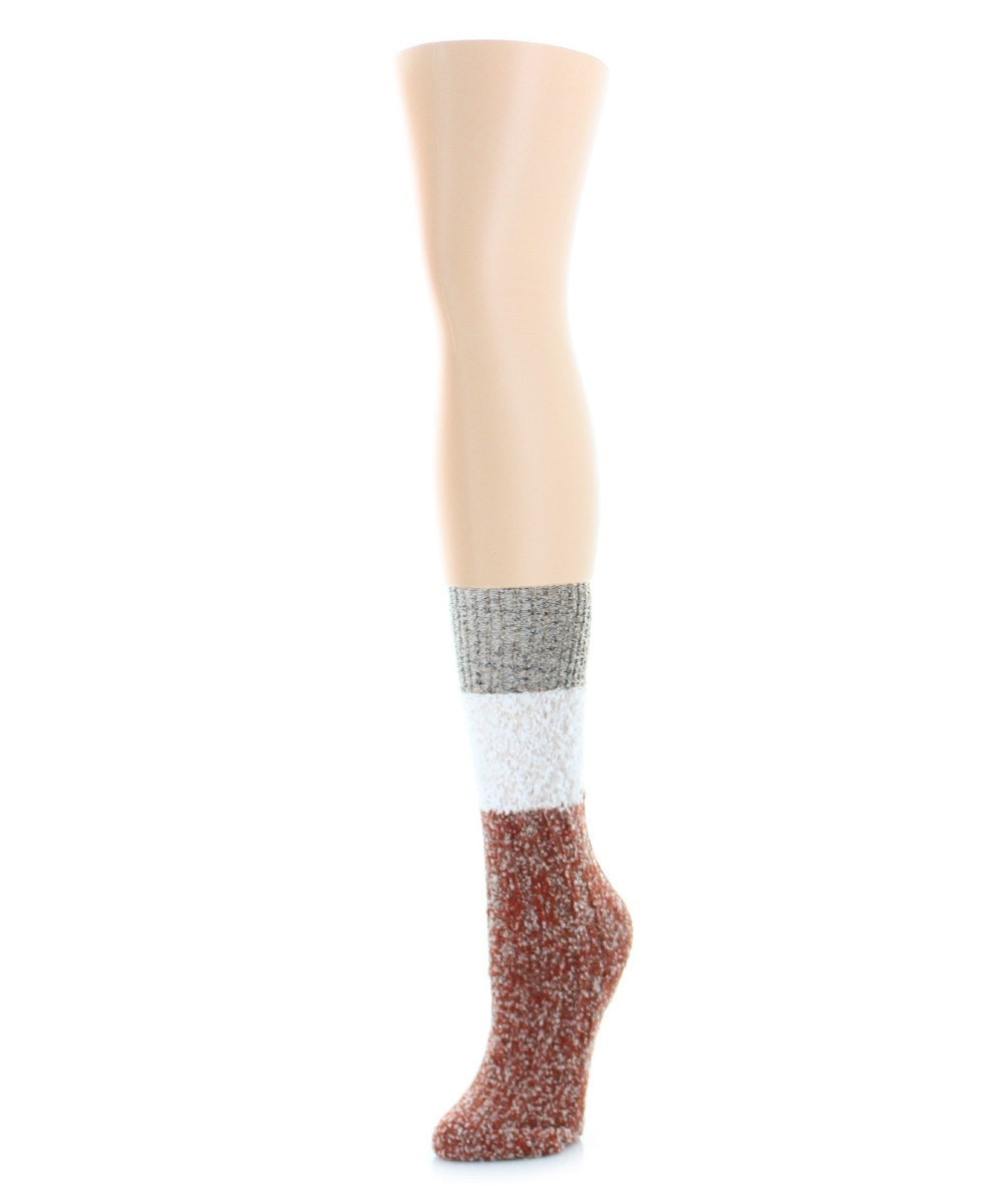 Distinctone Women's Soft-Fit Crew Socks (4 Colors) - MeMoi - 4