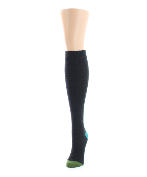 Brick Twist Knee High - MeMoi - 1
