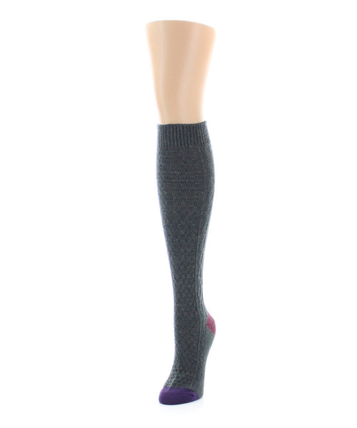 Brick Twist Knee High - MeMoi - 2