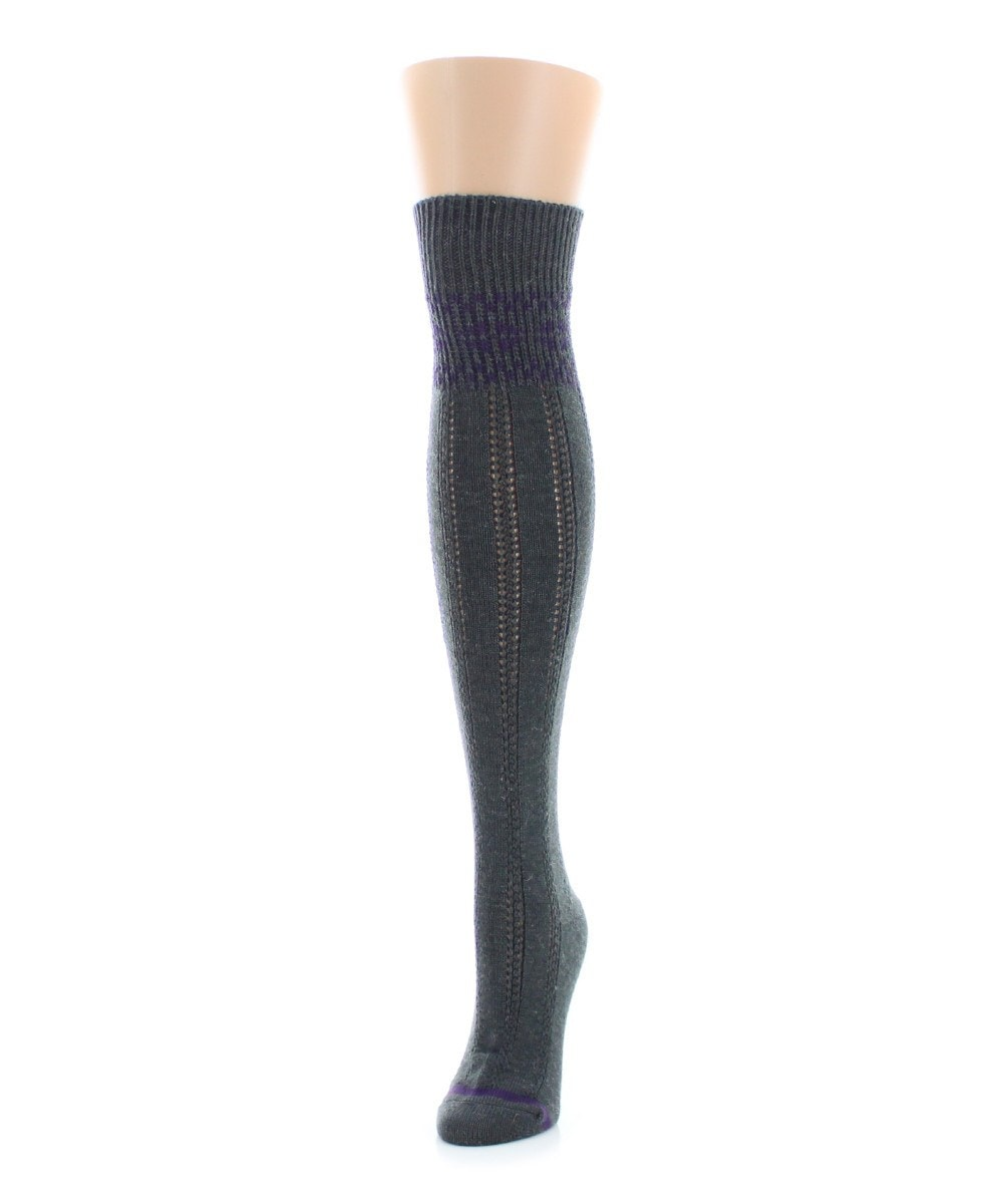 Fairisle Border Over The Knee - MeMoi - 2