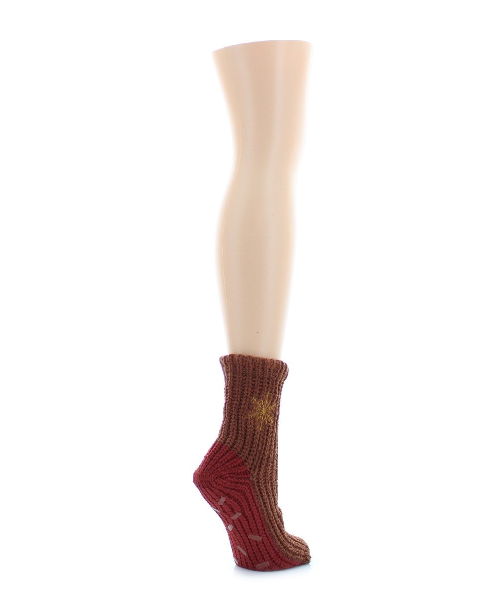 Flake Block Chenile Sock - MeMoi - 2