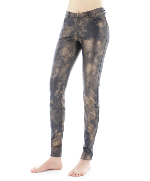 Nightly Shimmer Bronze Leggings Pants