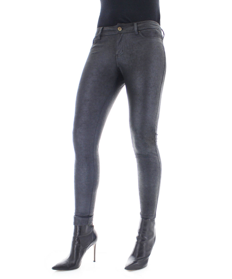 Legmogue Screziata Dappled Leatherlook Leggings