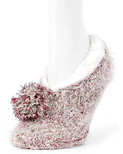 MeMoi Brindis Winter Slipper-LF7-5742 Ivory Mist-