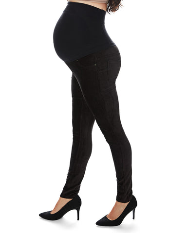 Corduroy Maternity Leggings