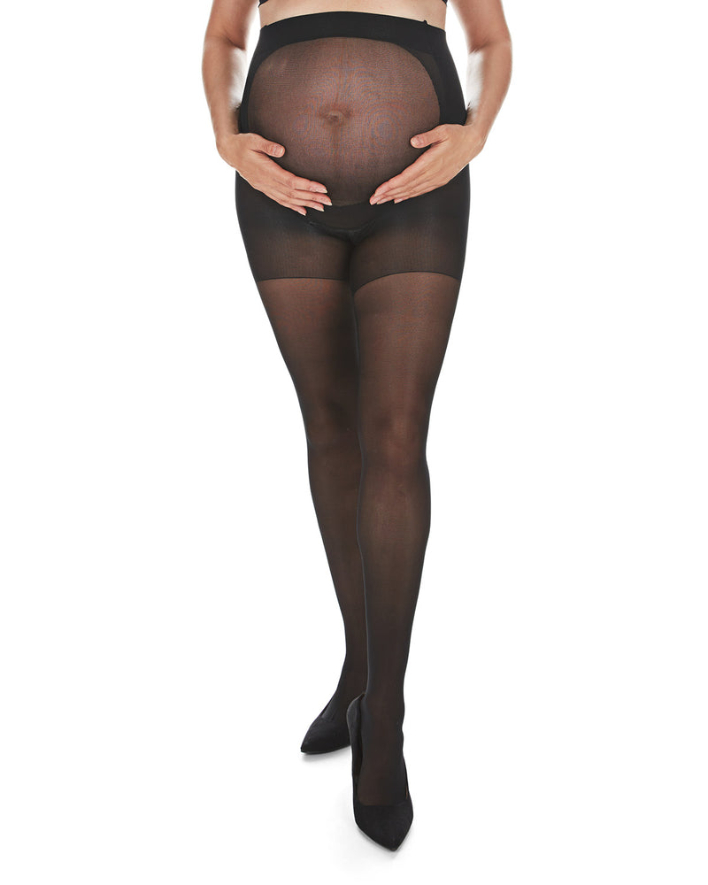 Sheer Support Maternity Tights