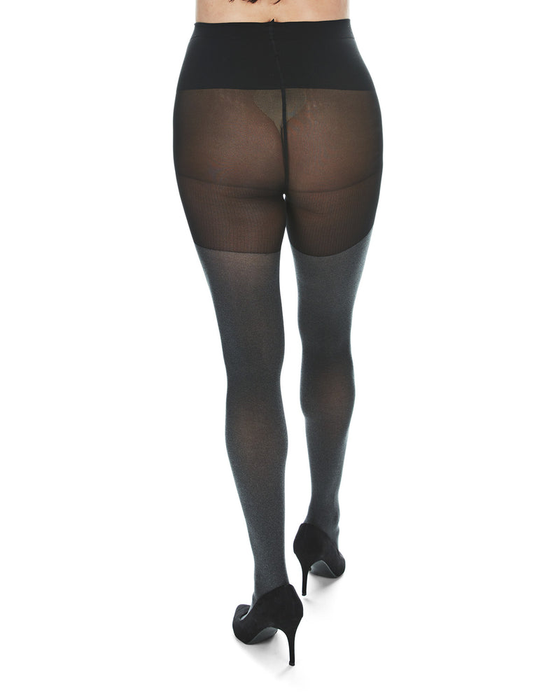 Maternity Opaque Heather Tights