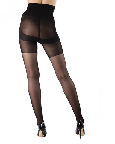 Magic Shaper Women's Shaping Tights | Shaping Tights by Levante | MAGIC SHAPE 40  | Nero
