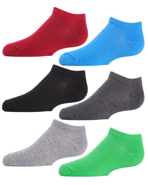 Boys Essentials Low Cut Socks Six-pack