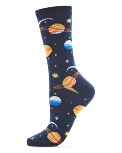 Planetarium Novelty Crew Sock