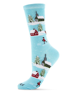 Figures Eights Novelty Crew Sock