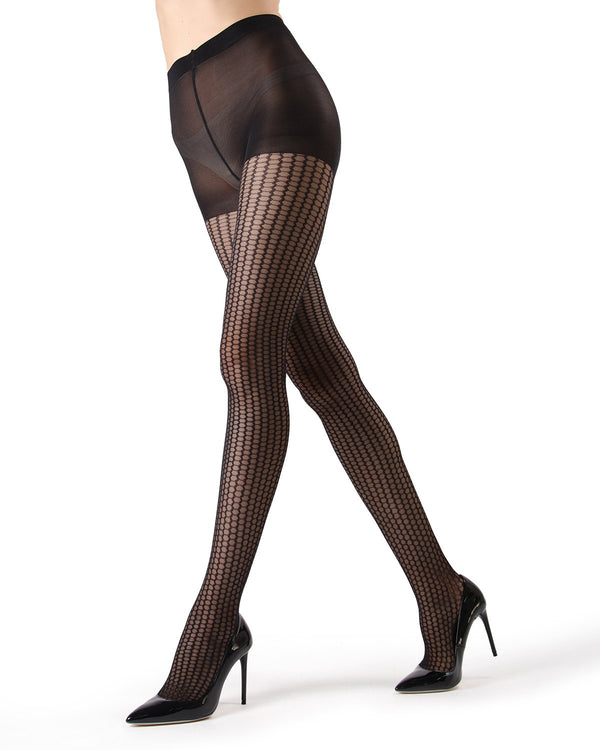 MeMoi Miami Honeycomb Net Tights | Women's Hosiery - Pantyhose - Nylons