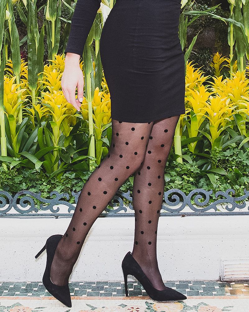 Petite Point Fashion Tights